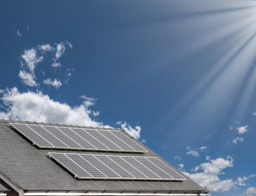 Impianto fotovoltaico sul tetto del condominio